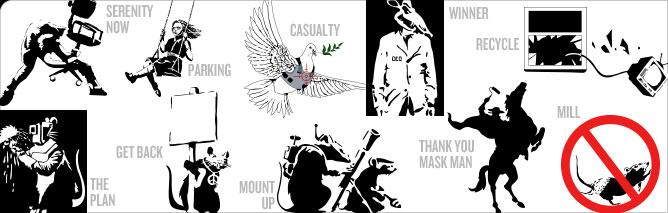 Banksy Pack 4
