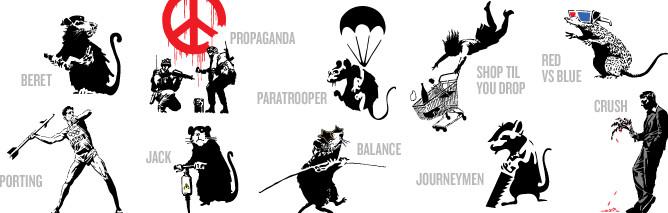 Banksy Pack 5